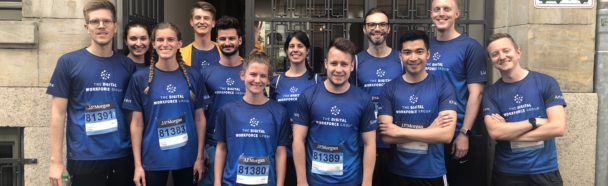 J.P.Morgan Corporate Challenge 2019